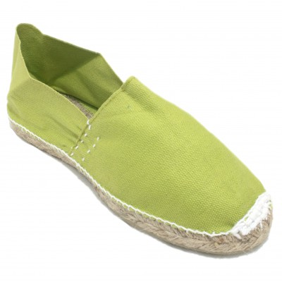 Espadrilles Camping Lime Green